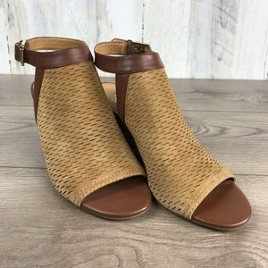 Franco Sarto   Martha Wedge Sandals Size 8.5